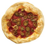 Jalapeño-pepperoni